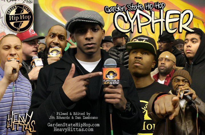 The Garden State Hip Hop Cypher 2011 Artwork