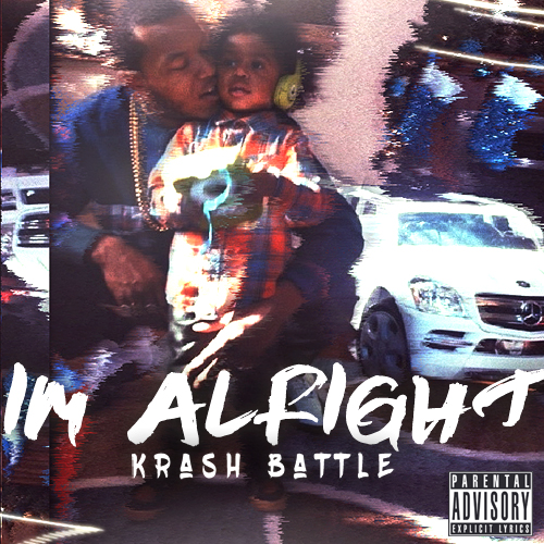 I'm Alright EP Front Artwork
